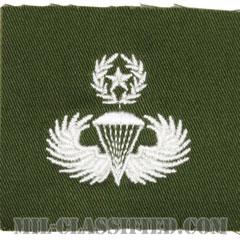 空挺章 (マスター)(Parachutist Badge, Master)[カラー/パッチ/レプリカ]画像