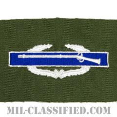 戦闘歩兵章 (ファースト)(Combat Infantryman Badge (CIB), First Award)[カラー/パッチ/レプリカ]の画像