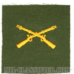歩兵科章(Infantry Branch Insignia )[カラー/兵科章/パッチ/レプリカ]の画像