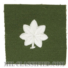 中佐(Lieutenant Colonel (LTC))[カラー/階級章/パッチ/レプリカ]の画像