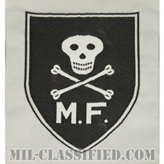南ベトナム軍マイクフォース(盾形)(RVN Mike Force(C-2,3,4 II,III,IV Corps MSF))[カラー/織刺繍(Bevo, Woven)/パッチ/レプリカ]の画像