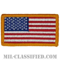 星条旗 カラー(フォワード)(USA Flag (Forward))[メロウエッジ/ベルクロ付パッチ]の画像