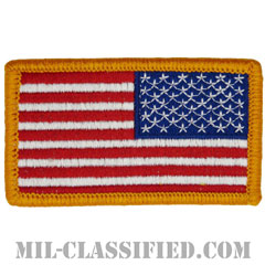 星条旗 カラー(リバース)(USA Flag (Reversed))[メロウエッジ/ベルクロ付パッチ]の画像