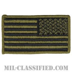 星条旗 OCP(リバース)(USA Flag (Reversed))[メロウエッジ/ベルクロ付パッチ]の画像