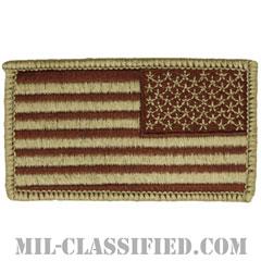 星条旗 デザート(リバース)(USA Flag (Reversed))[メロウエッジ/ベルクロ付パッチ]の画像