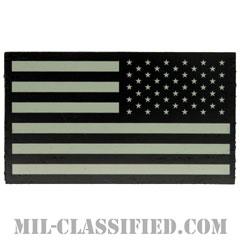 星条旗 IR グレー(リバース)(USA Flag (Reversed))[ベルクロ付パッチ]の画像