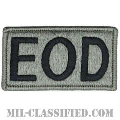 EOD(爆発物処理班)(Explosive Ordnance Disposal)[UCP(ACU)/メロウエッジ/ベルクロ付パッチ]の画像