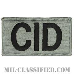 CID(陸軍犯罪捜査司令部)(Criminal Investigation Command)[UCP(ACU)/メロウエッジ/ベルクロ付パッチ]の画像
