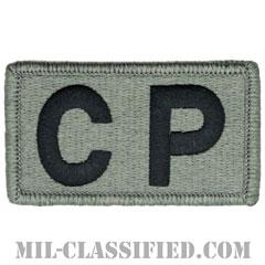 CP(生活指導巡回)(Courtesy Patrol)[UCP(ACU)/メロウエッジ/ベルクロ付パッチ]の画像
