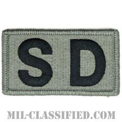 SD(幕僚勤務)(Staff Duty)[UCP(ACU)/メロウエッジ/ベルクロ付パッチ]の画像