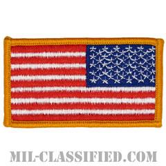 星条旗 カラー(リバース)(USA Flag (Reversed))[メロウエッジ/縫い付け用パッチ]画像
