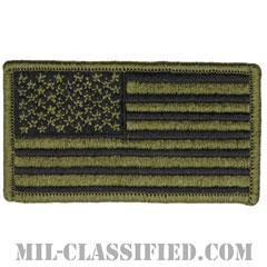 星条旗 サブデュード(フォワード)(USA Flag (Forward))[メロウエッジ/縫い付け用パッチ]の画像