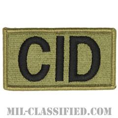 CID(陸軍犯罪捜査司令部)(Criminal Investigation Command)[OCP/メロウエッジ/ベルクロ付パッチ]の画像