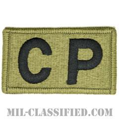 CP(生活指導巡回)(Courtesy Patrol)[OCP/メロウエッジ/ベルクロ付パッチ]の画像