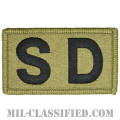 SD(幕僚勤務)(Staff Duty)[OCP/メロウエッジ/ベルクロ付パッチ]の画像