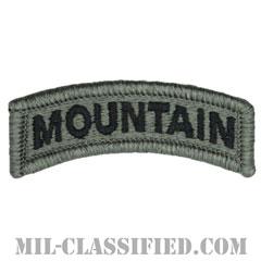 マウンテンタブ(Mountain Tab)[UCP(ACU)/メロウエッジ/ベルクロ付パッチ]の画像