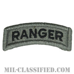 レンジャータブ(Ranger Tab)[UCP(ACU)/メロウエッジ/ベルクロ付パッチ]画像