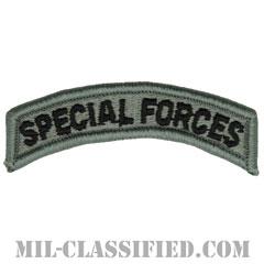スペシャルフォースタブ(Special Forces Tab)[UCP(ACU)/メロウエッジ/ベルクロ付パッチ]画像