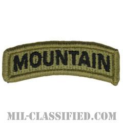 マウンテンタブ(Mountain Tab)[OCP/メロウエッジ/ベルクロ付パッチ]の画像