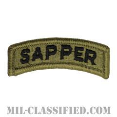 サッパータブ(Sapper Tab)[OCP/メロウエッジ/ベルクロ付パッチ]の画像
