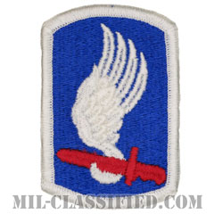 第173空挺旅団(173rd Airborne Brigade)[カラー/メロウエッジ/パッチ]画像