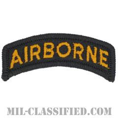 エアボーンタブ(ブラック&ゴールド)(Airborne Tab)[カラー/メロウエッジ/パッチ]画像
