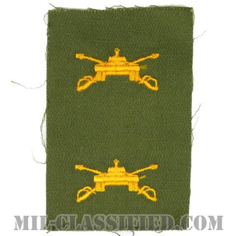 機甲科章(Armor)[カラー/兵科章/パッチ/ペア(2枚1組)]の画像