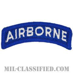 エアボーンタブ(ブルー&ホワイト)(Airborne Tab)[カラー/メロウエッジ/パッチ]画像