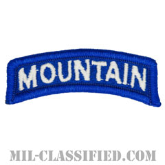 マウンテンタブ(Mountain Tab)[カラー/メロウエッジ/パッチ]の画像