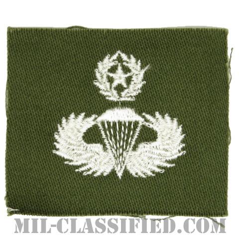 空挺章 (マスター)(Parachutist Badge, Master, Master)[カラー/パッチ]の画像