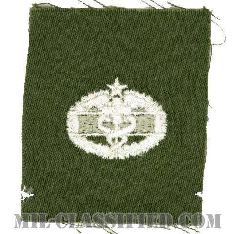 戦闘医療章 (セカンド)(Combat Medical Badge (CMB), Second Award)[カラー/パッチ]の画像