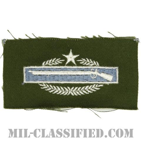 戦闘歩兵章 (ファースト)(Combat Infantryman Badge (CIB), First Award)[カラー/パッチ]の画像