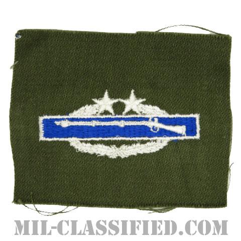 戦闘歩兵章 (セカンド)(Combat Infantryman Badge (CIB), Second Award)[カラー/パッチ]の画像