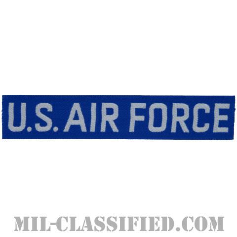 U.S.AIR FORCE (ブルー&ホワイト)[カラー/機械織りテープ/パッチ]の画像