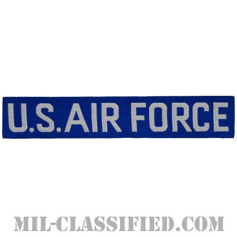 U.S.AIR FORCE (ブルー&シルバー)[カラー/機械織りテープ/パッチ]の画像