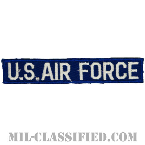 U.S.AIR FORCE [カラー/コットンツイルテープ/パッチ]の画像