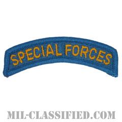 スペシャルフォースタブ(Special Forces Tab)[カラー/メロウエッジ/パッチ]の画像
