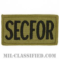 SECFOR(治安部隊)(Security Force)[OCP/メロウエッジ/ベルクロ付パッチ]の画像