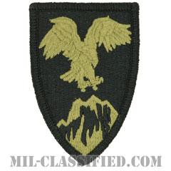 アフガニスタン多国籍軍(Combined Forces Command, Afghanistan)[OCP/メロウエッジ/ベルクロ付パッチ]の画像