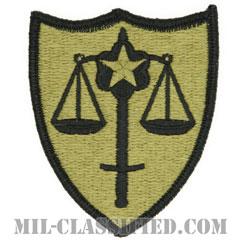 裁判防衛サービス(Trial Defense Service (USATDS))[OCP/メロウエッジ/ベルクロ付パッチ]の画像