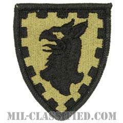 第15憲兵旅団(15th Military Police Brigade)[OCP/メロウエッジ/ベルクロ付パッチ]の画像