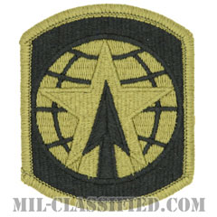 第16憲兵旅団(16th Military Police Brigade)[OCP/メロウエッジ/ベルクロ付パッチ]の画像