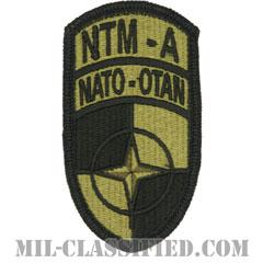 アフガニスタン訓練作戦(NATO Training Mission-Afghanistan)[OCP/メロウエッジ/ベルクロ付パッチ]の画像