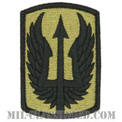 第185航空旅団(185th Aviation Brigade)[OCP/メロウエッジ/ベルクロ付パッチ]の画像