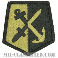 ロードアイランド 州兵(National Guard, Rhode Island)[OCP/メロウエッジ/ベルクロ付パッチ]の画像