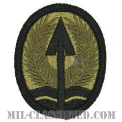 イラク多国籍軍団(Multi-National Corps-Iraq)[OCP/メロウエッジ/ベルクロ付パッチ]の画像