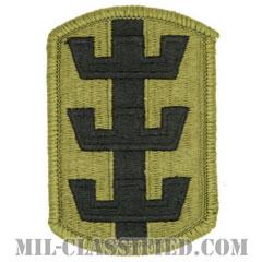 第130工兵旅団(130th Engineer Brigade)[OCP/メロウエッジ/ベルクロ付パッチ]の画像