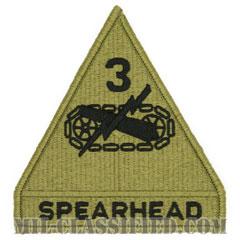 第3機甲師団(3rd Armored Division)[OCP/メロウエッジ/ベルクロ付パッチ]の画像