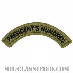 プレジデンツ ハンドレット タブ(President's Hundred Tab)[OCP/メロウエッジ/ベルクロ付パッチ]の画像
