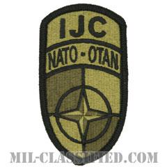 アフガニスタン国際治安支援部隊統合コマンド本部(IJC)[OCP/メロウエッジ/ベルクロ付パッチ]の画像